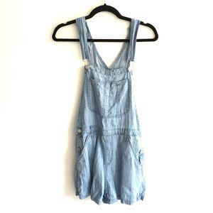 ARITZIA Wilfred Senryu Shorts Overalls Romper Blue